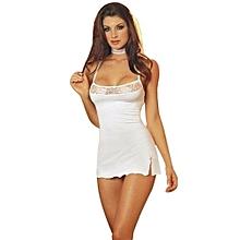 Women  039 s Lace Lingerie Dress Underwear G-string Babydoll Nightwear ... 8af70fb6a