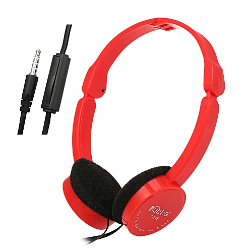 8dd633ad6a82c1 Kubite KUBITE T-111 3.5mm Wired Over-ear Headphones Foldable Sports Headset  Portable Music Gaming Earphones w/ Microphone for Kids MP4 MP3 Smartphones  ...