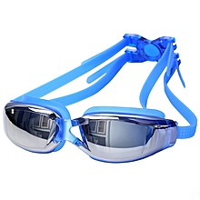 Professional Swimming Goggle Glasses(blue)