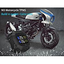 Careud M3 WI Motorcycle Tire Pressure Monitor - Black