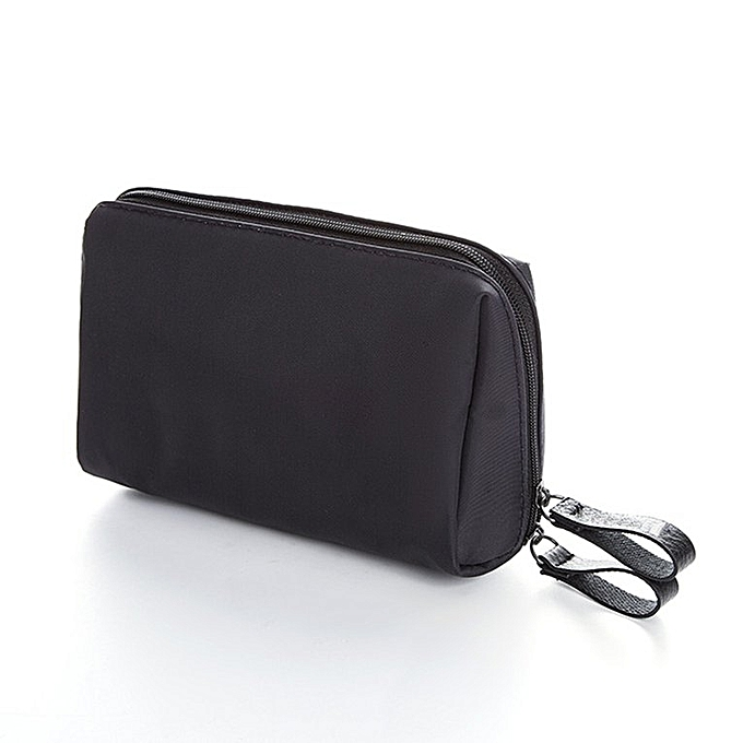 715840a5098d Women Nylon Makeup Bag Cosmetics Pouchs For Travel Ladies Pouch Cosmetic Bag  black