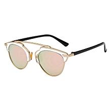 Women Fashion Uv400 Polarized Sunglasses (gold + Rose Gold)