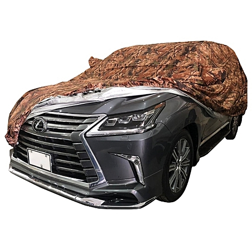 Buy Generic Lexus Car Cover Jungle Brown Silver Double Sided Water