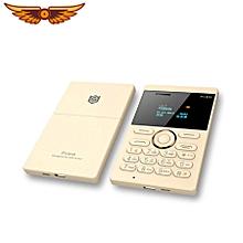 E1 Ultra Thin Mini Card Mobile Phone