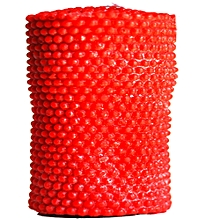 Artisan Candle 3-in-1 Red Pearl Pillar - 450g