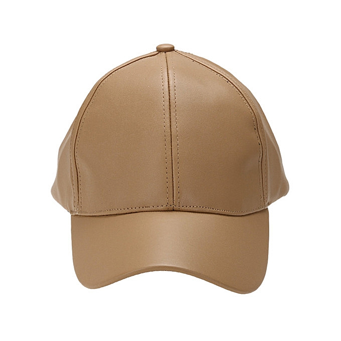 ee8a5e234 Touchpoint Collections PU Leather Plain Baseball Cap - Unisex Hat for Men &  Women - Adjustable & Structured for Max Comfort - Pink