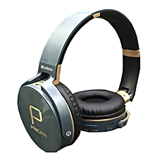 JB950 New Style Wireless Bluetooth FM Radio Headphone -  Blue