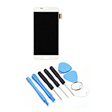 LCD G920F/G920A/V/T/P Display Touch Screen Replacement Samsung Galaxy S6 White