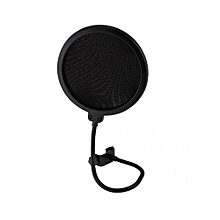 Double Layer Recording Studio Microphone Mic Wind Screen Pop Filter Shield