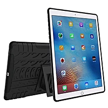For iPad Pro 9.7 Hybrid Tough Hard Stand Cover Case Stand Pen Holder New BK-Black