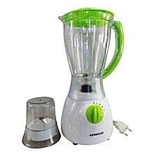 Electric Blender with Grinder - 1.5 L - White & Light Green