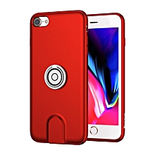 Baseus Wireless Charger Case With Magnetic Charging Car Holder For iPhone 7/8 Red