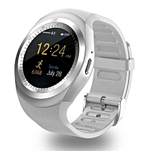 "RX9 - 1.2"" Smartwatch 32MB/32MB Pedometer Remote Camera - White"