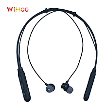 Sport Bluetooth Headphones Neckband Wireless Earbuds Magnet Noise Reduce Headset