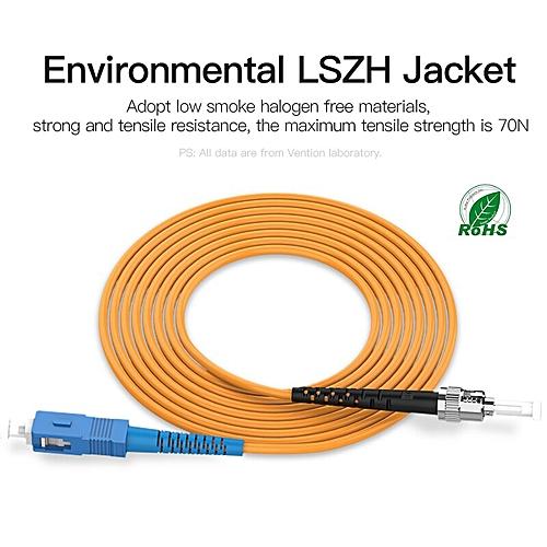 3M 5M 10M Fiber Optic Patch Cord SC-FC wide use Fiber-Optic Patch Cord  Single mode professional jumer wire LSZH Jacket(3m)