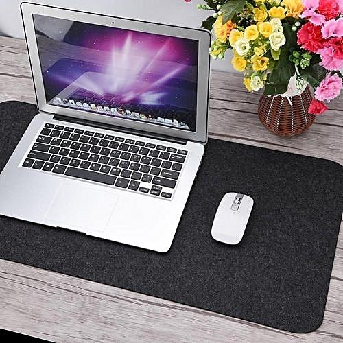 68x33cm Felts Table Mouse Pad Office Desk Laptop Mat Anti-static Computer PC Pads Dark