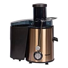 Affordable Juice extractor With  Big Feeding Mouth 6.5cm- Black and Gold.