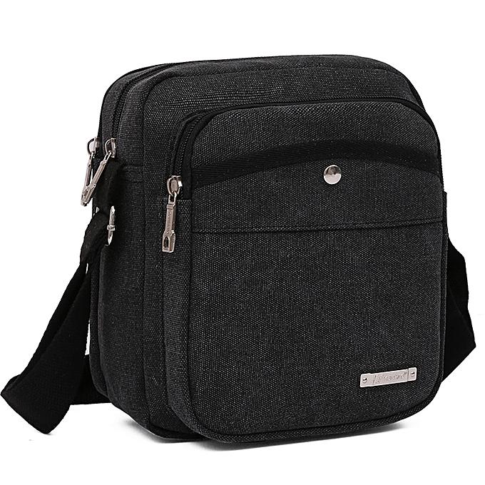 b1d27c91b87f koaisd Fashion Men Bag Messenger Bag Busines Casual Briefcase Crossbody  Shoulder Bag BK