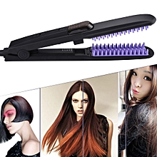 35W Professional Nano Atomization Spray Electric Curling Hair Straightener with 10ml Atomizer Water Tank, US Plug, AC 110-220V