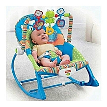 Superior Fisher Price Infant to Toddler Rocker/Bouncers ( 0+ months) - blue