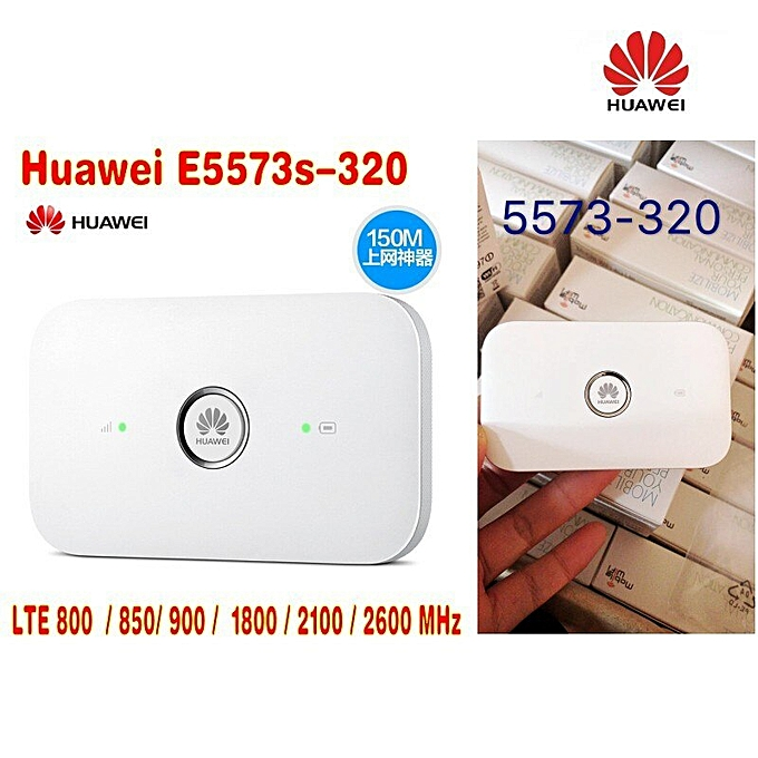 HUAWEI E5573s-320 150M Wireless router huawei e5573 4g lte cat4 mobile wifi  hotspot plus 4g antenna