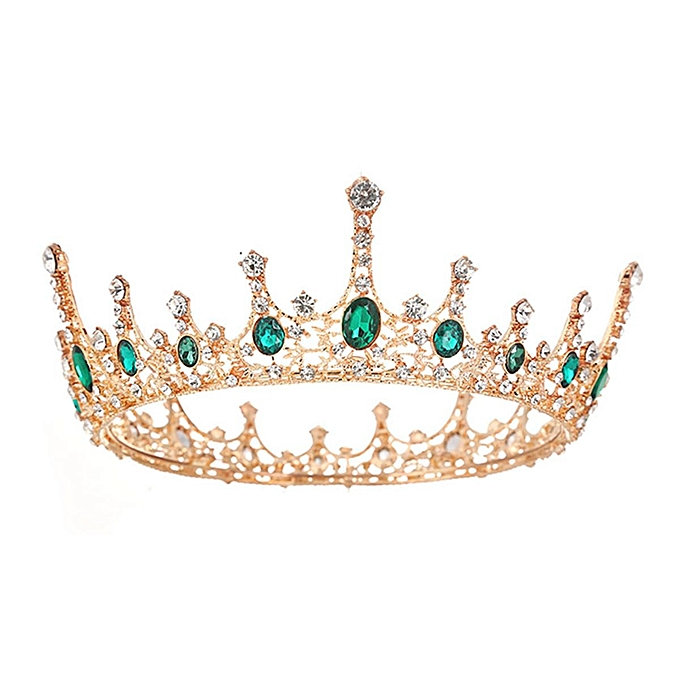 Vintage Wedding Bridal Rhinestone Tiara Crown Headband Women Hair  Accessories 738162040e6