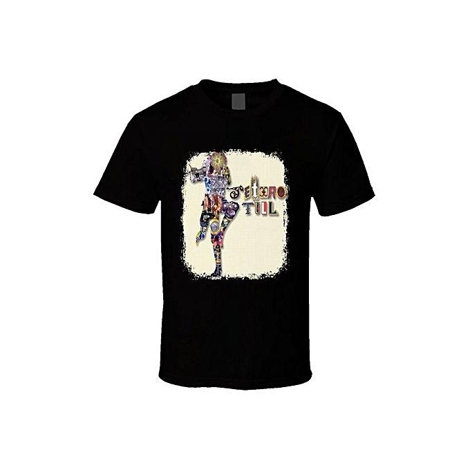 483ea4193f2 Jethro Tull Classic Rock N Roll Vintage Band Music T Shirt Fashion O-Neck  Short