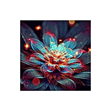 Flower Pattern Diamond Cross Painting Stitch 5D Embroidery Home Decoration multi-color mixed