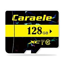 Caraele TF / Micro SD Memory Card Class 10 UHS-I BLACK 128GB