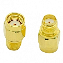 RP SMA Female Jack To SMA Male Plug Straight RF Adapter Connector Convertor