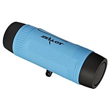 Bluetooth Speaker with flashlight - Blue