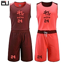 Men  039 s Customized Team And Numbers Basketball Sport Jersey Uniform -Orange( 83baa49c5