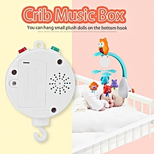Baby Infant Crib Bed Hanging Musical Bell Electric Music Box 12pcs Sweet Melodies