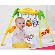 New Multifunctional Music Intelligence Game Mats Baby Activity Play Mat Baby Gym Educational Fitness Frame Toys-Activiy Gym With Multiple Patterns & Music 0M+, AK-666-8A