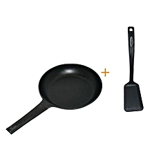 Non Stick Cooking Pans And One Cooking Stick 28cm - Black