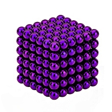 CO Magic Magnet Balls 216pcs Strong Magnetic Puzzle Game For Stress Relief-purple 5mm