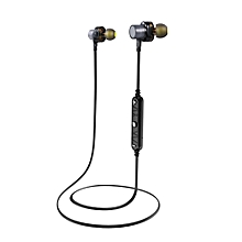 Awei X660BL Quad-core Necked Magnetic Anti-wind BT Earphone Waterproof for Sports