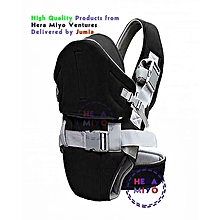 Baby Carrier With a Hood Black