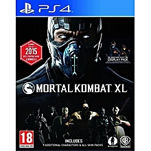 PS4 Mortal Kombat XL