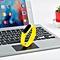 C6 Bluetooth 4.0 Smart Bracelet w/ Heart Rate Monitor - Yellow