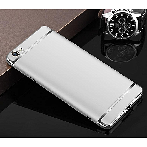 classic fit 2433e 0b549 For VIVO Y55S Case 3 In1 Full Protection Hard Matte Plating Casing Phone  Cover For Y55s Housing 232290 (Silver)