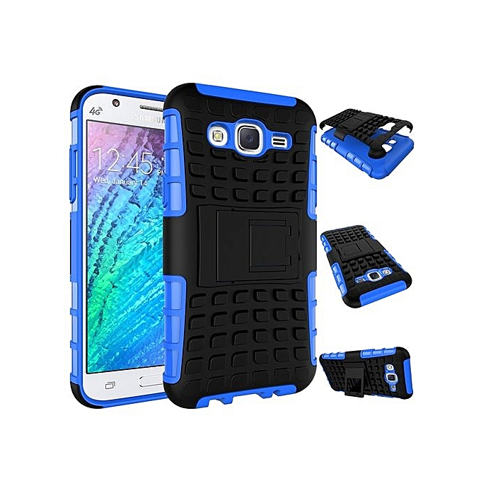 size 40 89bce c55fe For Galaxy [J5 2015] Case, Hard PC+Soft TPU Shockproof Tough Dual Layer  Cover Shell For 5.0
