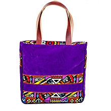 Multicolored Summer Tote Handbag