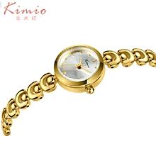Top Brand Luxury Golden Watch Women Stainless Steel Ladies Analog Quartz Watch Montre Femme Hour Clock Wristwatches