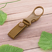 AWMN R1 Gear Clip Nylon Camouflage Outdoor Camping Hunting Buckle Bottle Carrier Tactical Belt