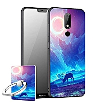 """For Nokia X6 2018 5.8"""" inch Cool Design Colored Paiting Soft TPU Silicone Back Cover Case Phone Cases"""