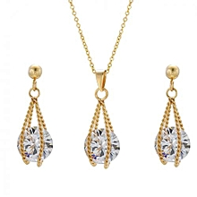 crystal fashion necklace