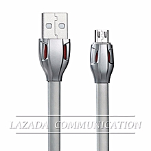 Remax RC-035m 1M Laser Series Super Fast Charge & Data Micro USB Cable with LED Light for Samsung / Asus / HTC / Lenovo / Sony / Oppo / XiaoMi etc DIOKKC