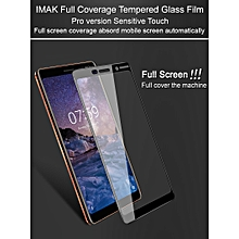 Pro+ Screen Protector For Nokia 7 Plus Full Coverage Tempered Glass Protective For Nokia 7 Plus Full Glue Absord Automatic