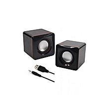 Highest Quality Multimedia Speakers - 2.0 USB - Black